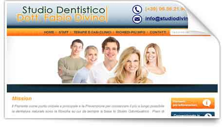 Sito web tudio dentistico